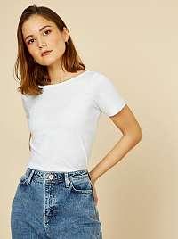 ZOOT Baseline biele dámske tričko Trissie