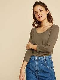 ZOOT Baseline khaki dámske tričko Theresa