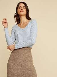 ZOOT Baseline sivé dámske tričko Tamara