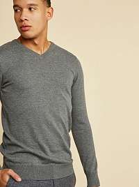 ZOOT Baseline sivé pánsky sveter Leo