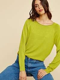 ZOOT Baseline zelené basic dámsky sveter Ema
