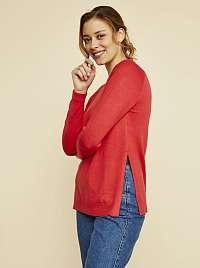 ZOOT červené dámsky basic sveter