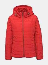 ZOOT červené prošívaná bunda