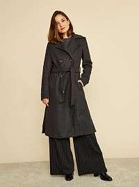ZOOT sivé kabát