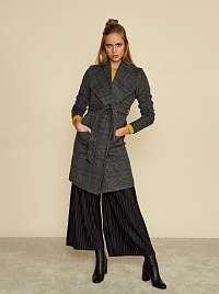 ZOOT sivý károvaný kabát Pamela