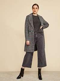 ZOOT sivý kockovaný kabát Gabrielle