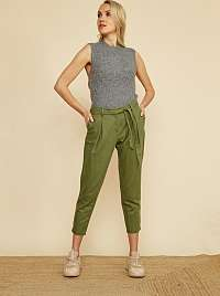 ZOOT zelené nohavice Alondra