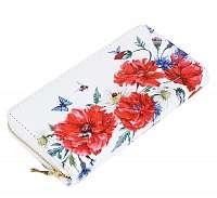 Dámska peňaženka kvety
