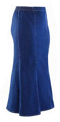 DELRI - riflová sukňa 75 cm