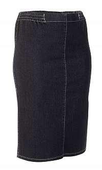 ELZU úzka riflová sukňa 70 cm