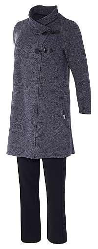 FLELA fleecový sveter, sveter