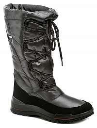 Jacalu 6200.20 šedé dámske zimný topánky šírka F