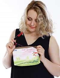 Kozmetická taška s potlačou