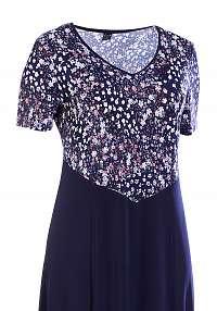 LEONA šaty 3/4 rukáv 120 - 125 cm