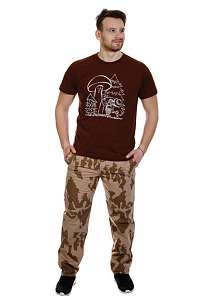 maskáčové nohavice pánske