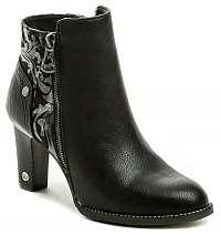 Mustang 1335-501-9 čierna dámska obuv