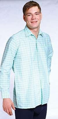 Pánska košeľa  s krátkým rukávem