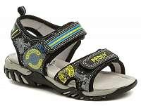 Peddy PO-512-36-02 čierne sandálky