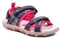 Peddy PY-212-37-02 modro ružové dievčenská sandále