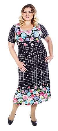 PETRA - šaty 110 - 115 cm 3/4 rukáv