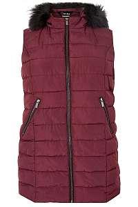 Prešívaná vesta s kapucňou značky YOURS