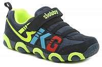 Slobby-0544-U1 modro zelené dětské tenisky