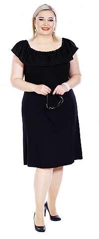 STELA - šaty bočné dĺžka 85 - 90 cm