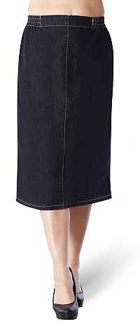 Úzka riflová sukňa ELSURI