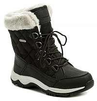 Vemont 7Z6028C čierne dámske zimný topánky