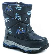 Wojtylko 2Z9059 modré detské zimný snehulky