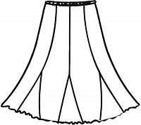 ZORA - sukňa 80 - 85 cm