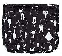 Albi Závesná kozmetická taška Kočky