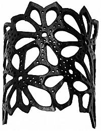 ARTcycleBALI Kvetinový náramok Kecil Flower Dots BR_012 17,5 cm