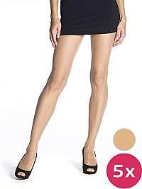 Bellinda Dámska sada pančuchových nohavíc 5 Pack Almond Die passt 20 BE290001 -116 M
