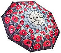 Blooming Brollies Dámsky dáždnik Poppies folding style