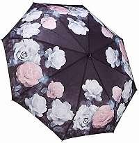 Blooming Brollies Dámsky skladací plne auto matický dáždnik Galleria Vintage Rose GFFVR