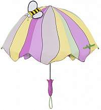 Blooming Brollies Detský palicový dáždnik Kido rable Lotus U0100LOT