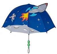 Blooming Brollies Detský palicový dáždnik Kidorable Space Hero U0100SP