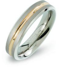 Boccia Titanium Snubný titánový prsteň 0144-02 mm