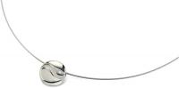 Boccia Titanium Titánový prívesok s diamantom 07022-02