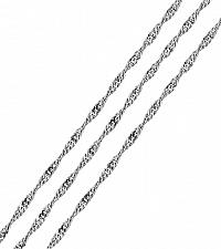 Brilio Silver Strieborná retiazka Lambáda cm1 086 00009 04 - 2,10 g