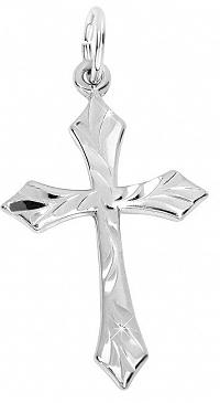 Brilio Silver Strieborný prívesok krížik1 001 00221 04