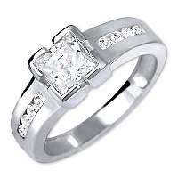 Brilio Silver Strieborný zásnubný prsteň6 001 00416 04 mm