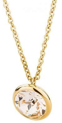 Brosway Oceľový náhrdelník s kryštálom Swarovski N-Tring BTN44