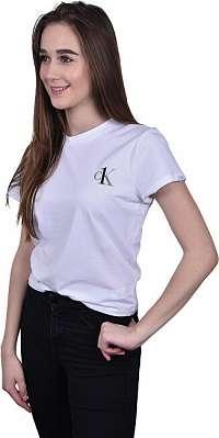 Calvin Klein Dámske tričko CK One S / S Crew Neck QS6356E-100 White XL