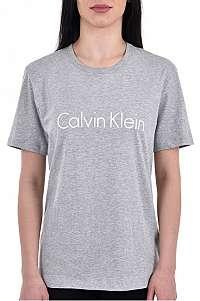 Calvin Klein Dámske tričko S / S Crew Neck QS6105E -020 XS