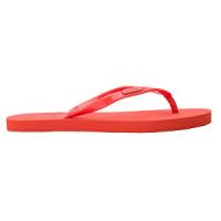 Calvin Klein Dámske žabky FF Sandal KW0KW00395-659 Mandarine Red-40