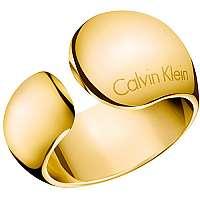 Calvin Klein Luxusné otvorený prsteň Informal KJ6GJR1001 mm