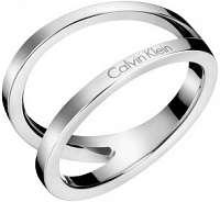 Calvin Klein Luxusný oceľový prsteň Outline KJ6VMR0001 57 mm
