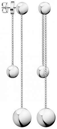Calvin Klein Moderné oceľové náušnice 2v1 Unpaired KJ9VME000200